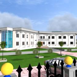 Etudes Architecturales Et Techniques Du Palais De Justice De BALI (BAMENDA)