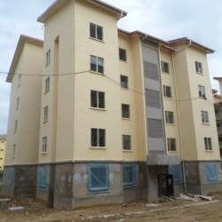 Maitrise d'œuvre des travaux de construction de 33 immeubles R+4 a Mbanga Bakoko Douala 2