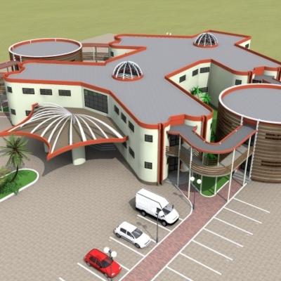 Etudes architecturales et techniques en vue de la construction du village artisanal de Mbalmayo 2